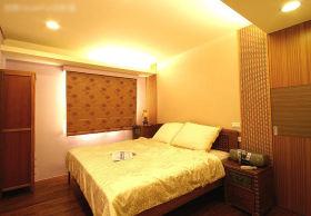 黄色现代风格卧室图片赏析