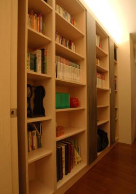 现代风格清爽实用书柜装潢赏析
