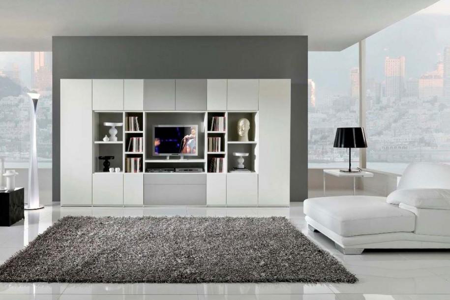 灰色大气北欧简约风格客厅装潢装修
