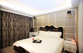 2016温馨黑色新古典卧室装修设计