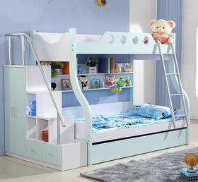 蓝色创意混搭儿童房欣赏