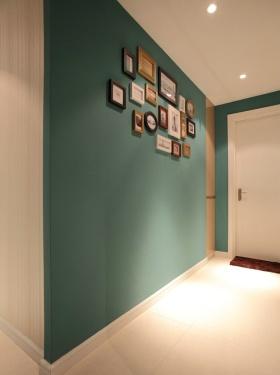 创意混搭风格玄关照片墙设计欣赏