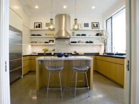 自然工业风田园风格厨房设计赏析