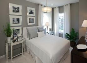 雅致自然简约风格卧室装修布置