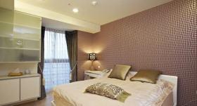 米色新古典低奢卧室装修效果图
