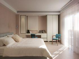 简约风格粉色卧室效果图欣赏