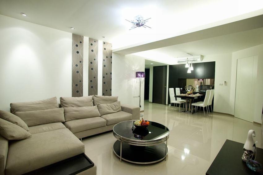 现代温馨舒适风格客厅图片赏析