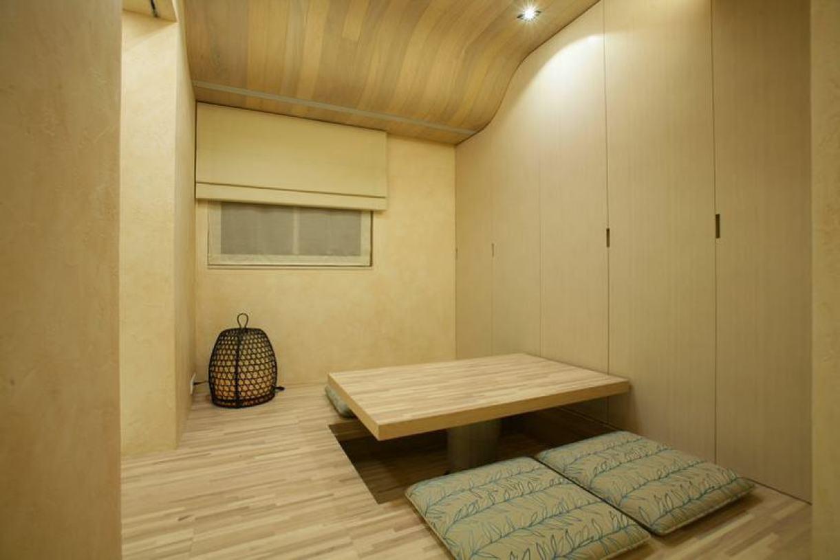 原木色日式风格榻榻米装饰案例