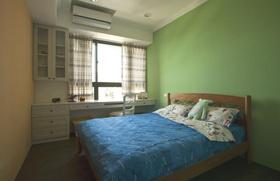 田园风格绿色卧室设计赏析