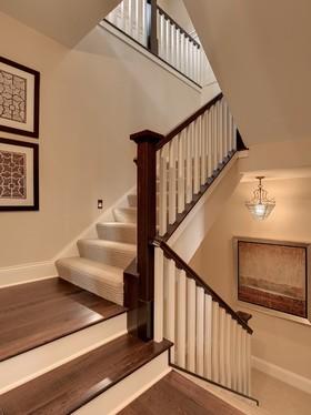 时尚混搭风格楼梯装修效果图片