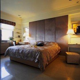 现代温暖色调卧室设计赏析