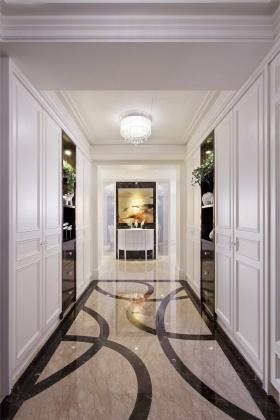 2016白色淡雅简欧风白色过道设计