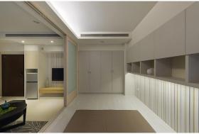 简单现代风格玄关设计装饰案例