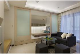 现代风格黑色客厅沙发美图赏析
