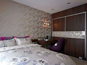 简洁现代风格卧室衣柜设计装潢