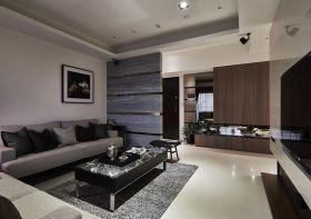 现代风格时尚灰色客厅设计
