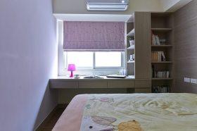 简约风格紫色书房设计赏析