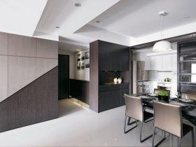 现代客厅褐色吊顶装修效果美图