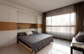 素雅温馨宜家风格卧室装饰设计图片