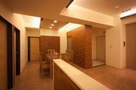 简洁中式风格餐厅装修设计