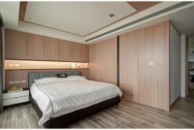 现代风格米色时尚卧室图片欣赏