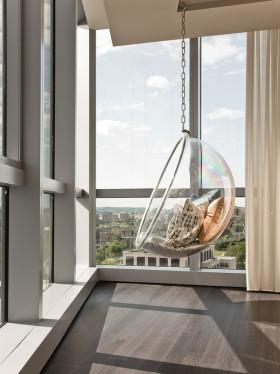 休闲自然现代风格休闲阳台装修效果图