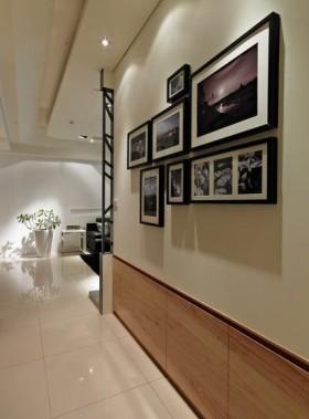 美式雅致时尚白色照片墙图片欣赏