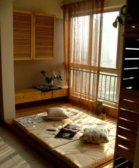 清爽休闲日式风格榻榻米装饰案例
