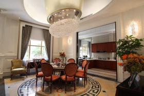 新古典风格米色餐厅装修图片