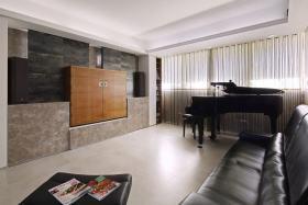 简约风格灰色客厅欣赏