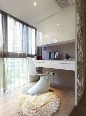 自然舒适休闲简约风格阳台效果图设计