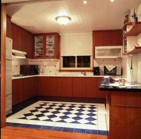 创意时尚田园风格厨房设计装潢