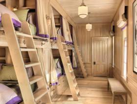 欧式质朴自然儿童房装修图