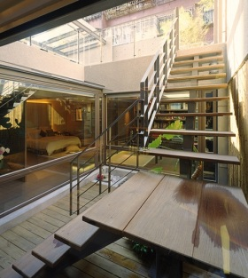 大气精美现代风格楼梯装修图