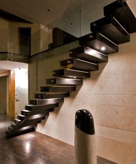 2016创意时尚混搭风格楼梯欣赏