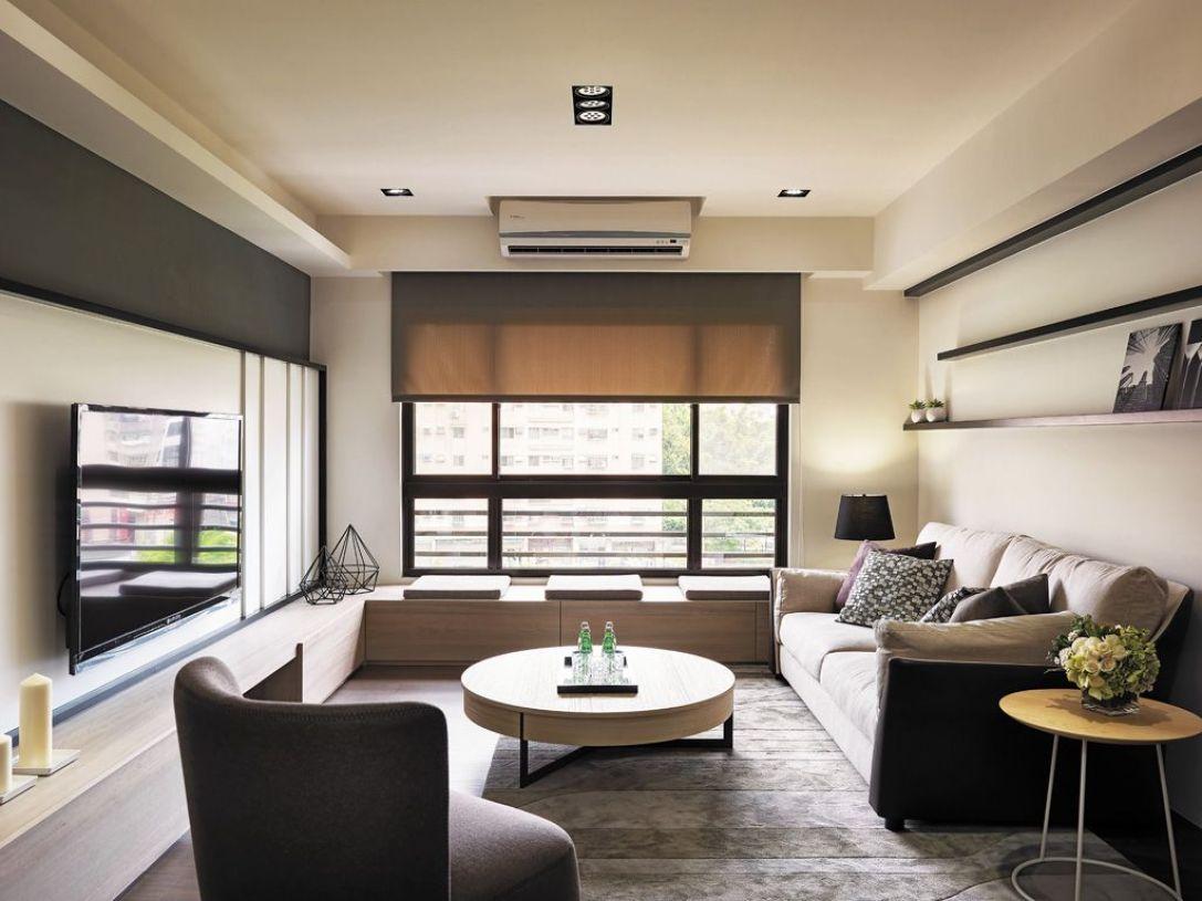 宜家风格休闲米色客厅设计赏析