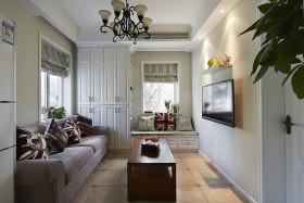 英伦时尚田园风格客厅装潢设计赏析