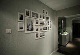 灰色典雅温馨简欧风格照片墙美图欣赏