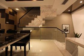 时尚简洁新古典风格楼梯设计