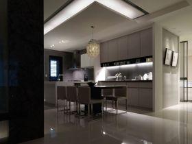 现代风格灰色精致餐厅设计