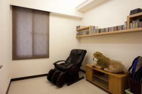 简约风格米色书房装修设计图
