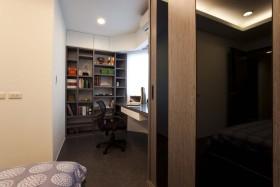 现代风格小书房装修效果图片