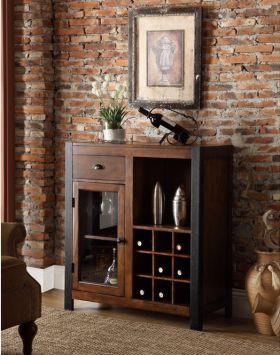 复古雅致欧式风格酒柜装潢案例