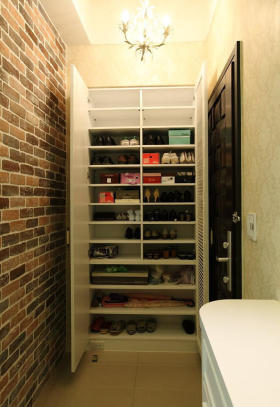 简约风格实用鞋柜设计欣赏