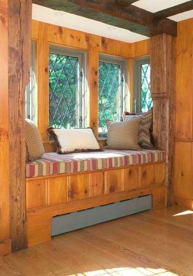 复古美式优雅混搭风格飘窗设计装潢