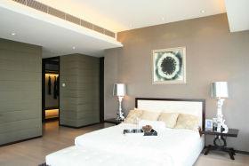 现代质感卧室效果图