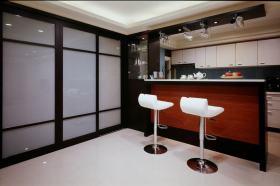 黑色凝练大气现代风格吧台欣赏