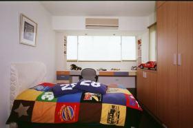 现代彩色儿童卧室装潢设计