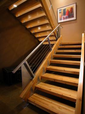 混搭风格楼梯装修设计图片
