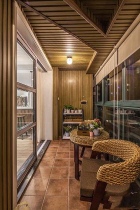 舒适休闲现代风格阳台设计装潢